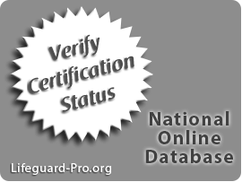 Verify Lifeguard Certifications & Water Safety Instructor Courses